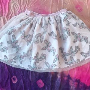 H&M cute tulle covered butterfly 🦋 skirt